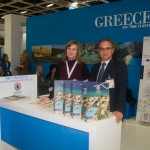 Neptune Hotels - Doris Dallhammer, Reservation Manager and Dimitris Bisas, Room Division Manager.