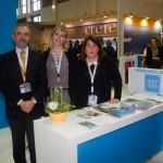 Sbokos Hotel Group - Babis Foskolakis, General Manager; Dionysia Mikrouli, Sales Manager; and Katina Papadomanolakis, Director of Sales & Marketing.