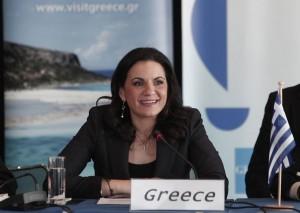Greek Tourism Minister Olga Kefalogianni. © ANA-MPA
