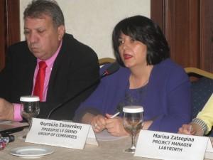 Fotoula Sapounaki, managing director of Le Grand Group of Companies. Photo: GTP