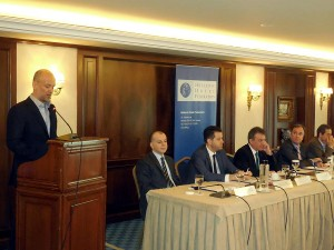 The president of the Hellenic Federation of Hoteliers, Yiannis Retsos. Photo: Hellenic Federation of Hoteliers