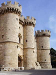 Palace of the Grand Master of the Knights of Rhodes.