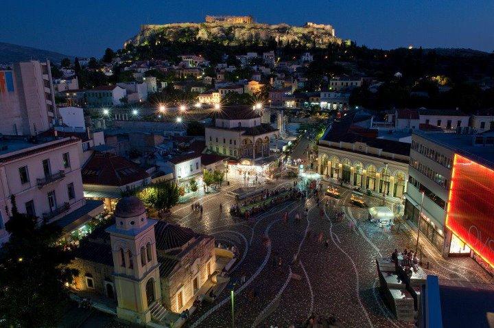 Athens, Greece. Photo © Facebook - ΟΙ ΟΜΟΡΦΙΕΣ ΤΗΣ ΕΛΛΑΔΑΣ ΜΑΣ