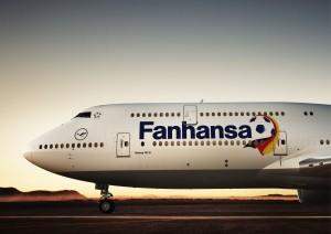 Boeing 747-8 with Fanhansa livery. Photo © Lufthansa