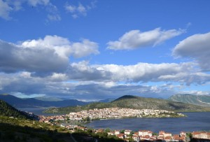 The city of Kastoria.