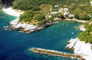 Damouchari Beach in Pelion. Photo © Municipality of Mouressi