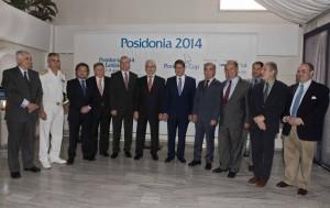 Posidonia 2014 press conference. Photo source: Posidonia Exhibitions