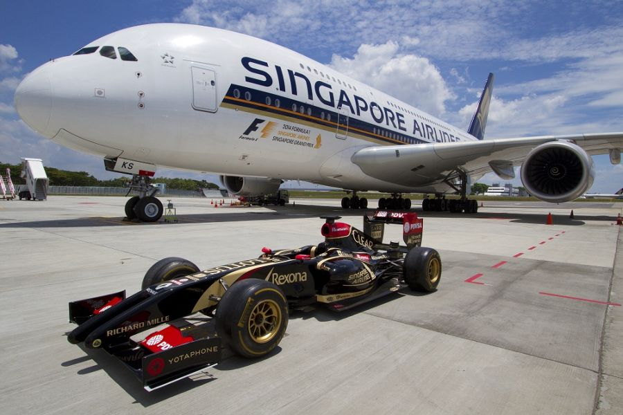 Next Year Calendar Sia : Singapore airlines new title sponsor for formula