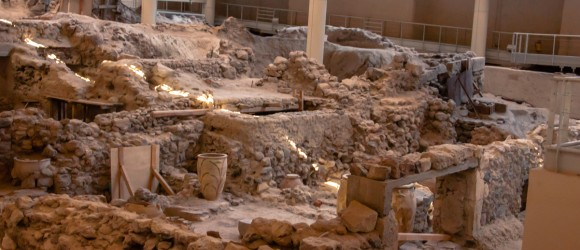Archaeological Site of Akrotiri of Thera