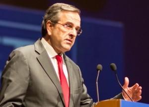 Greek Prime Minister Antonis Samaras. Photo © GTP