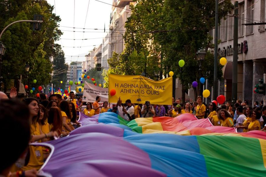 Photo © Katerin Grzybek. Source: Athens Pride facebook