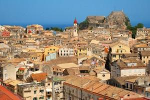 Corfu Town. Photo © balounm, Shutterstock