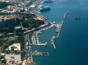 Aerial photo of Corfu Island. Photo © Greek Aerial Photos Portal
