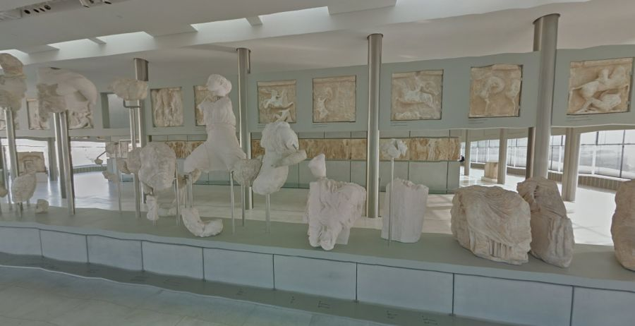Acropolis Museum. Image from Google Street View service.