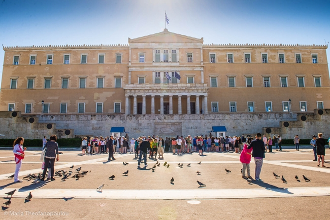 Hellenic Parliament. Photo © Maria Theofanopoulou