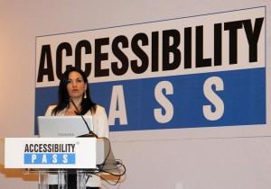 Greek Tourism Minister Olga Kefalogianni. Photo © Accessibility Pass