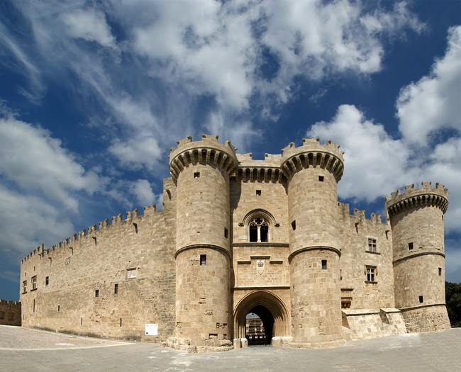 Grand Master's Palace, Rhodes. Photo © VLADJ55, Shutterstock