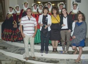 Foreign journalists on Skopelos. Photo © Spyrou Hotels