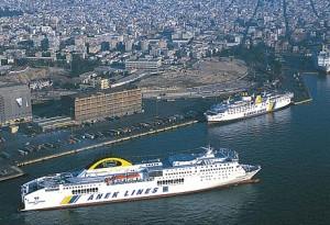 ANEK Lines - Olympic Champion, car passenger ferry.