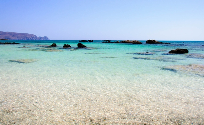 Elafonissi Beach, Crete. Photo © Constantin Stanciu / Shutterstock