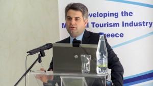 Greek Deputy Minister of Development Odysseas Konstantinopoulos. Photo source: Goldair