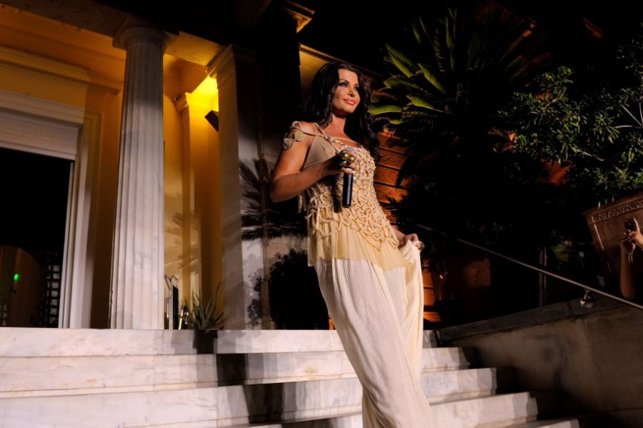 Greek soprano Nina Lotsari. Photo © Poseidonion Grand Hotel