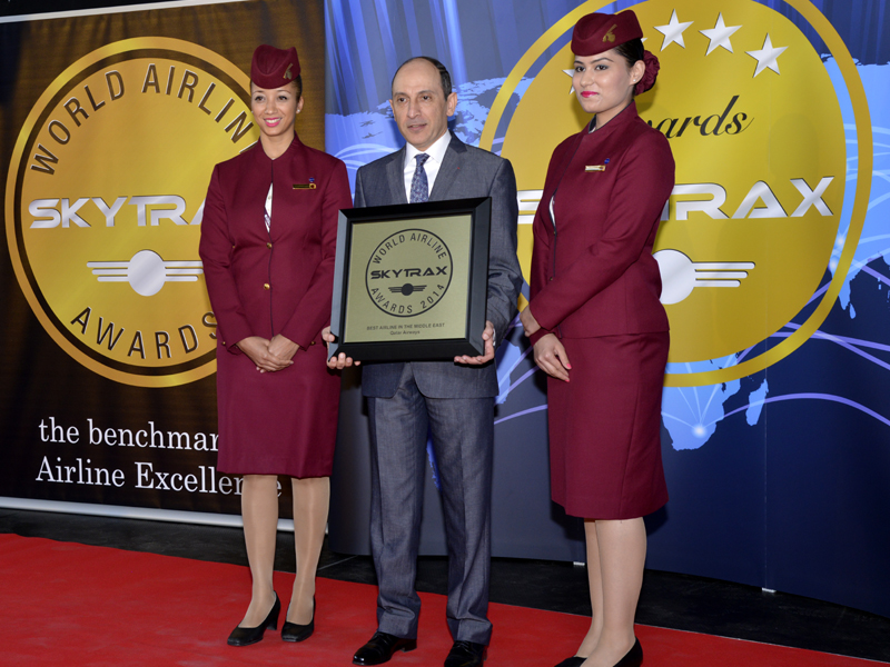 Qatar Airways Wins Three Major Accolades At Skytrax Awards ...