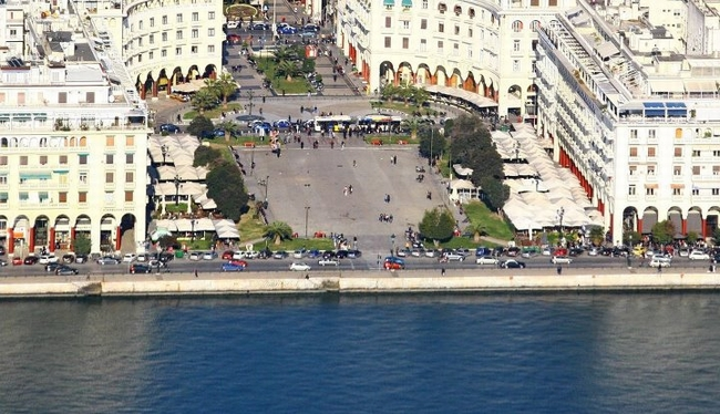 Aristotelous Square,Thessaloniki. Photo © Aggelos Ekonomou