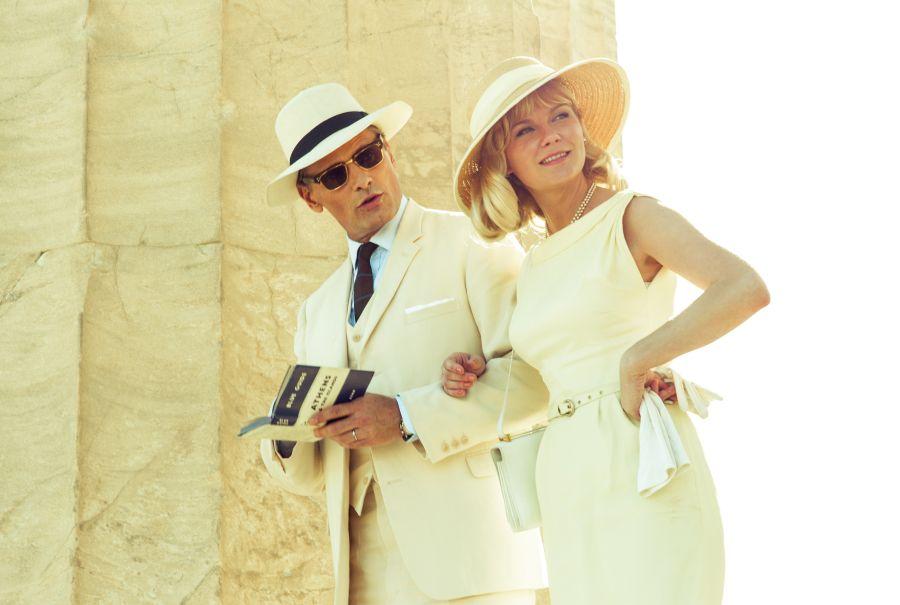 Viggo Mortensen and Kirsten Dunst at the Acropolis.