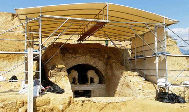 Kasta tomb, Amphipolis.