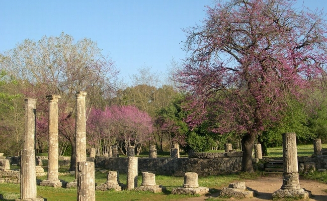 Ancient Olympia. Photo © Wikimedia Commons