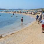 Agios Georgios beach.