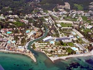 Corfu Island. Photo © Greek Aerial Photos Portal