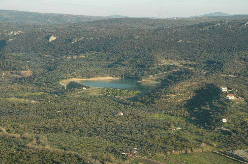 Water reservoir, Costa Navarino. Photo source: TEMES