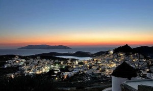 Photo © Stavros Oldjohn, Facebook - Greek Islands