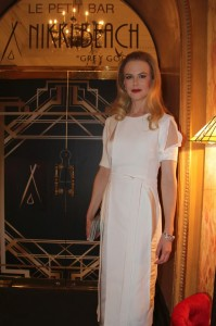 Nicole Kidman at Nikki Beach Cannes.