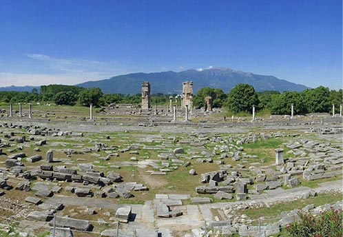 Archaeological Site of Philippi - one of the most important archaeological sites of Greece.