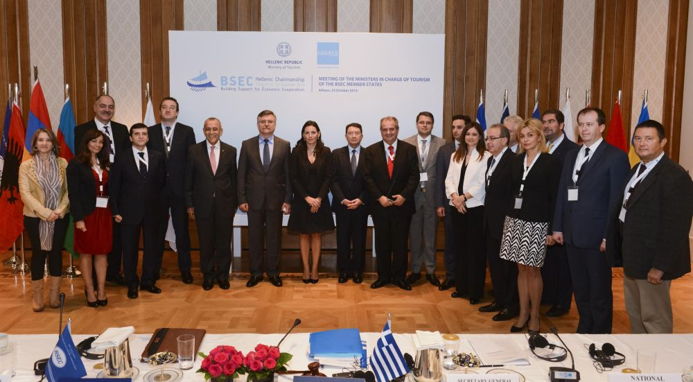 Ministers in charge of Tourism of the Black Sea Economic Cooperation (BSEC) Member States.