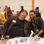 Rick Calvert, CEO of TBEX; and Daniel Nahabedian, freelance travel photographer.