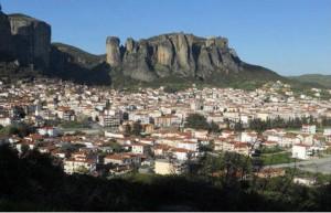 The town of Kalambaka. Photo © Facebook - ΟΙ ΟΜΟΡΦΙΕΣ ΤΗΣ ΕΛΛΑΔΑΣ ΜΑΣ