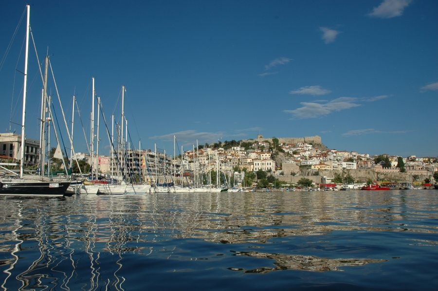 Kavala port, northern Greece