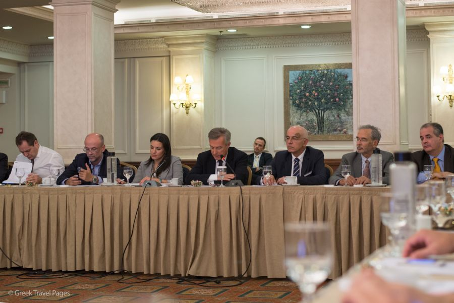 Greek Tourism Minister Olga Kefalogianni was present at the open Board of Directors meeting of the Association of Tourism Enterprises (SETE) held in Athens.