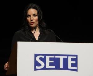 Greek Tourism Minister Olga Kefalogianni. Photo @ SETE