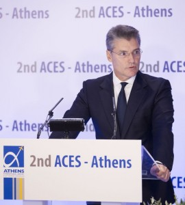 Athens International Airport CEO Yiannis Paraschis. Photo: AIA