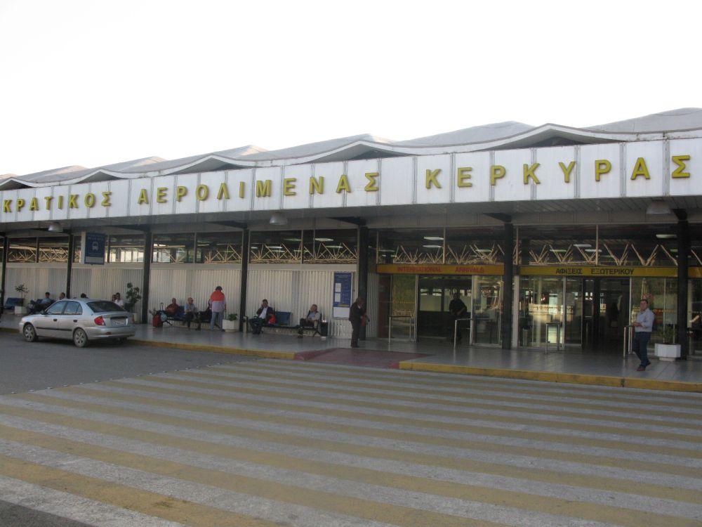 Corfu Airport. Photo: GTP