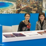 Maria Theofanopoulou, publisher of GTP, with Katerina Papaioannou, owner and manager of Kiwi Travel Services.