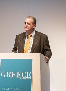 The secretary general of the Greek National Tourism Organization (GNTO), Panos Livadas.