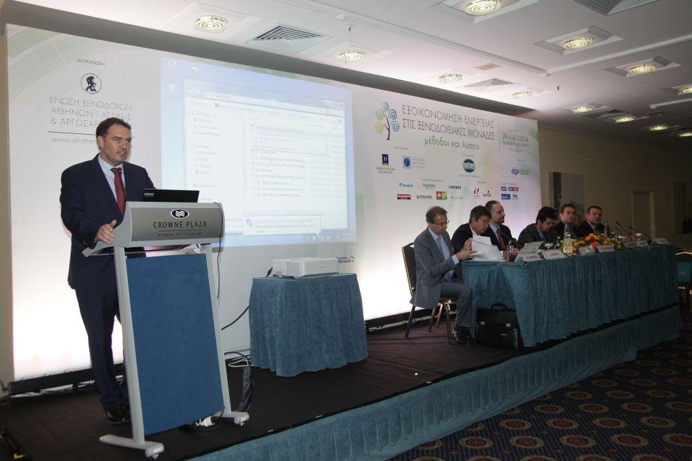 Alexandros Vassilikos, president of the Athens-Attica & Argosaronic Hotel Association.