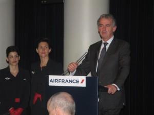 Frédéric Gagey, Chairman and CEO of Air France. Photo © GTP