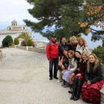 Participants of the six-day fam trip for media and tour agents at The Region of East Macedonia-Thrace.
